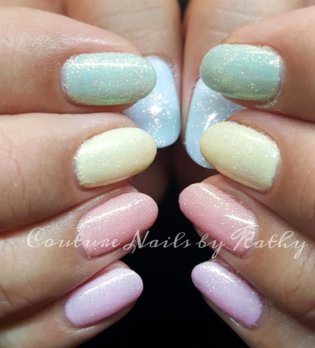 Fairy dusted pastels