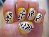 Yellow Zebra-ish