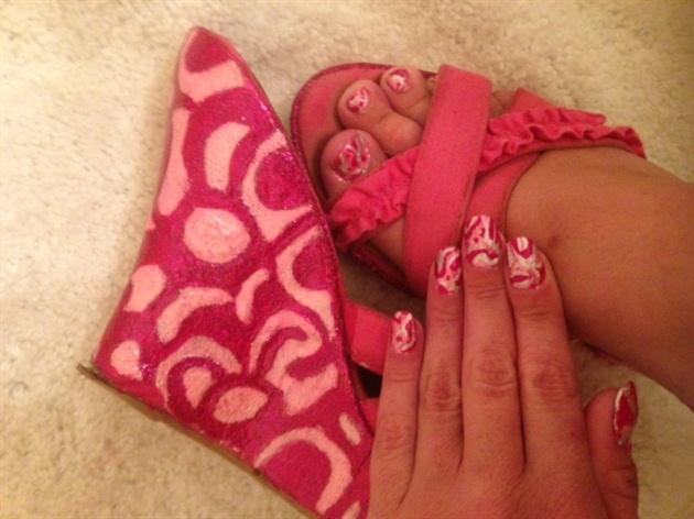 Barbie's Lava Lamp--Toes