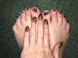 Genie Lamp--Toes