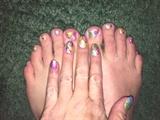 Easter Egg Hunt--Toes