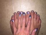Shiny Arrows--Toes
