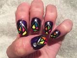 Neon Mosaics