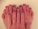 Princess Glitz--Toes