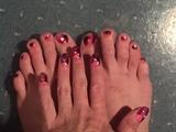 Marble Mayhem--Toes