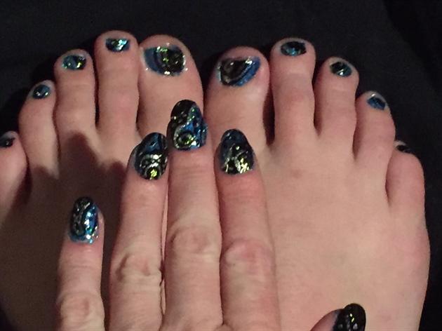 Blue Vortex--Toes