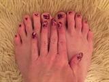 Romantic Geometrics--Toes