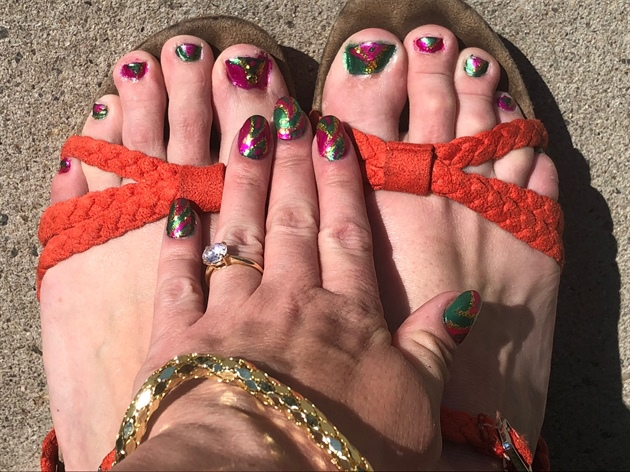 Botanic Bliss--Toes
