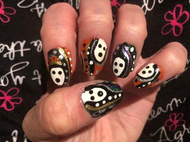 Ghostly Halloween Scream