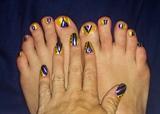 Royal on Sunshine--Toes