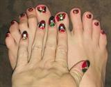 Christmas Joy--Toes