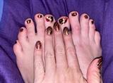 Ritzy Dazzle--Toes