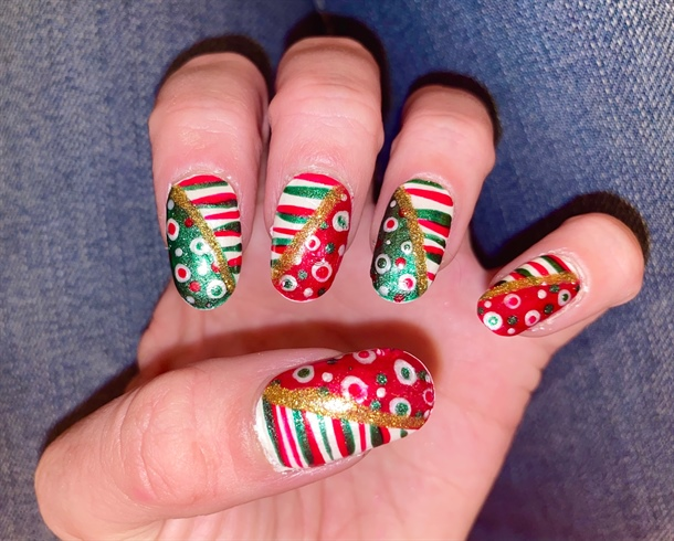 Candy Canes and Baubles