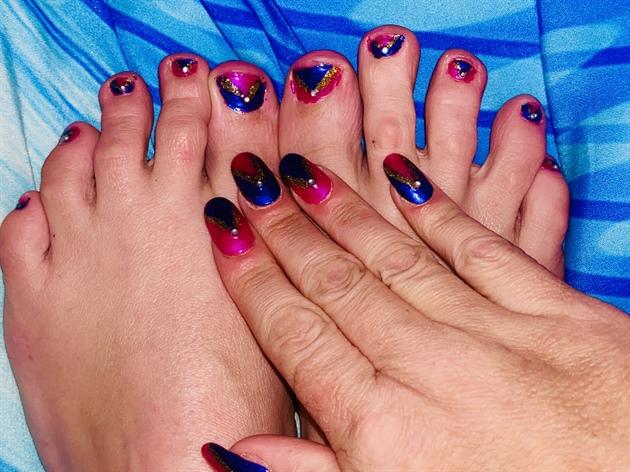 Barbie Girl--Toes