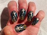 Aqua Art Deco