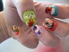 Family Guy/ South Park Nails