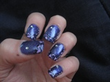 Pretty Purple Leopard Design