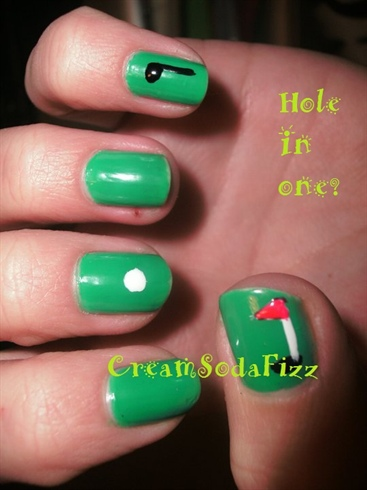Golfing Nails