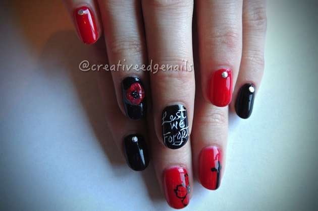 Remembrance Day Nails