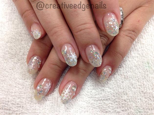 Sparkle Snowflakes