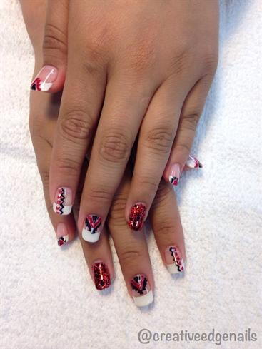 Aztec Prom Nails