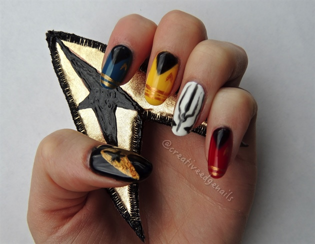 Star Trek Beyond Nail Art Gallery
