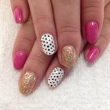 Pink And Polka Dots