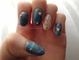 Blue Jean Nails