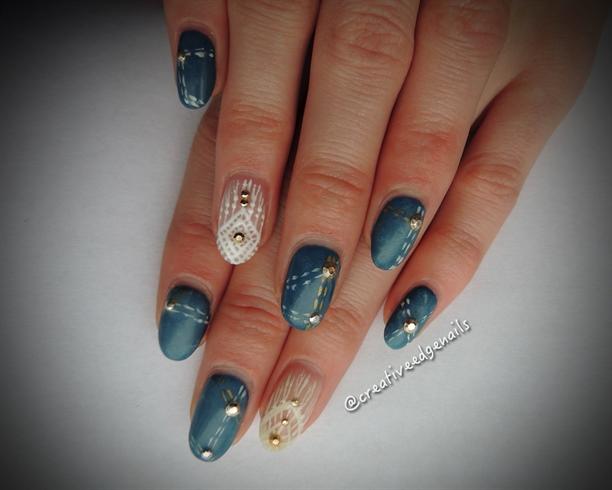 Blue Jean Nails Nail Art Gallery