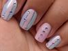 pastel konad nail art