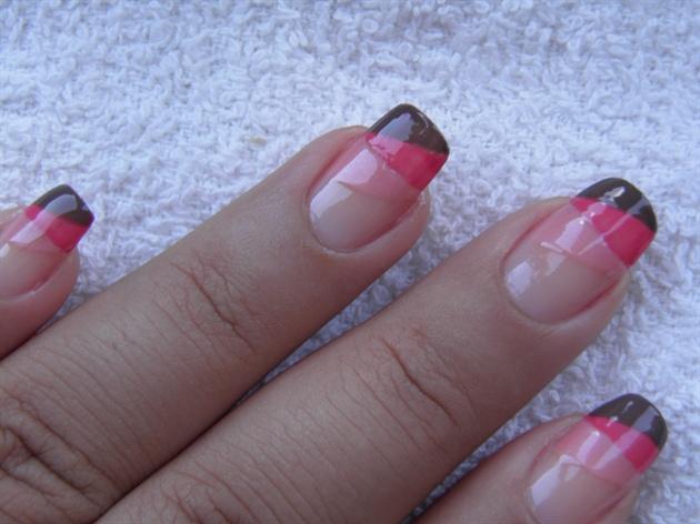 zig zag manicure