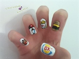 Buguer King Nail Art