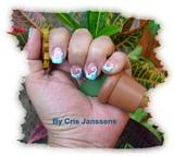 nail art inspirado robin moses