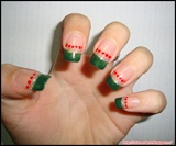 Easy Nail Design for Christmas
