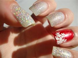 nail art: Glitter Overload