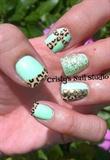 Mint Green Cross Trend