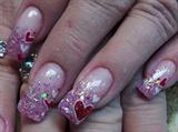 Pink Valentine Confitti