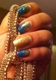 Gold Glitter Fall