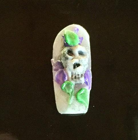 Sculpted Skull