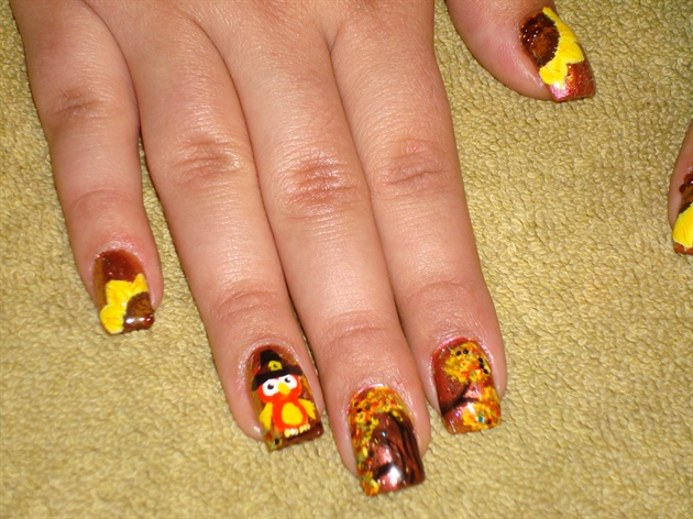 Toe nail designs for thanksgiving thanksgiving nail art designs nail designs for thanksgiving images frompo view images prinsesfo Choice Image