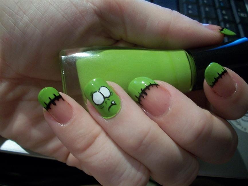 Zombie nail art gallery prinsesfo Choice Image