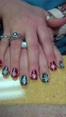 Cupcakes nails
