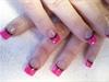 Hot Pink/ Black line