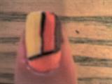 bright nail design