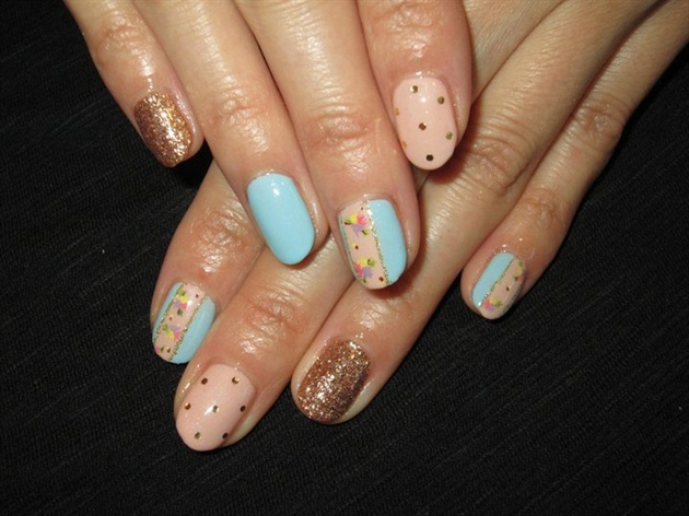 Spring mix nails