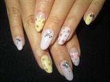 Small rose nails