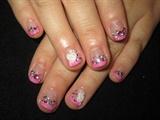 Cute weeding nails