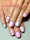 Simple 2 color Nails