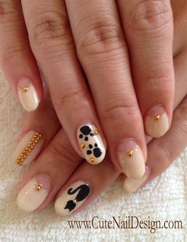 Cat Nails Nail Art Gallery