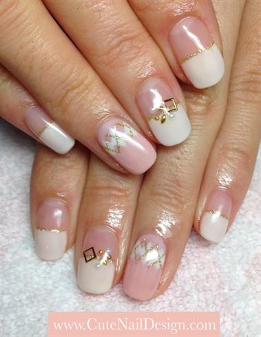 Argyle Pastel Nails